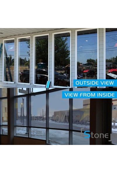 Newdizayn Aynalı Cam Filmi Amerikan 60 cm x 6 m