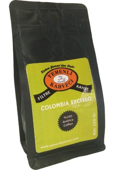 Yemenli Kahveci Colombia Excelso Filtre Kahve 250 gr