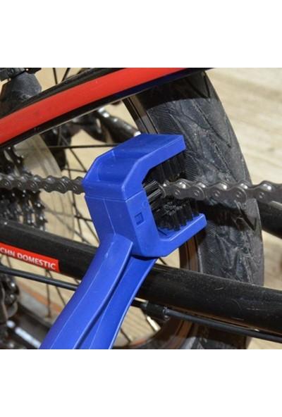 Knmaster Motosiklet Zincir Temizleme Fırçası Mavi