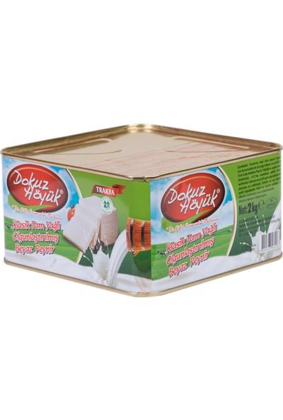 Dokuzhöyük Tam Yağlı Katkısız Klasik Inek Peyniri 2 kg
