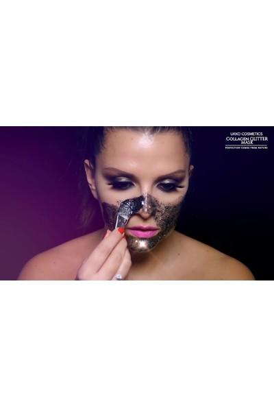Ukko Cosmetics Simli Collagen Maske Ukko Kozmetik Simli Maske + Fırça Hediye