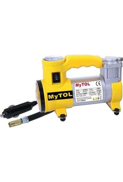 Mytol Araba Oto Araç Lastik Şişirme Pompası Metal Gövde FY001A