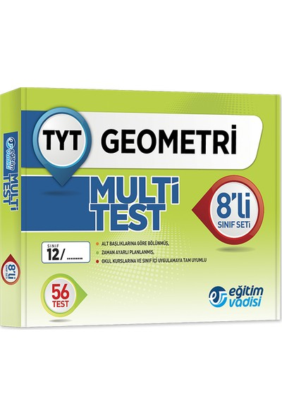 Tyt Multi 8 li Öğrencilik Kutu Test Geometri