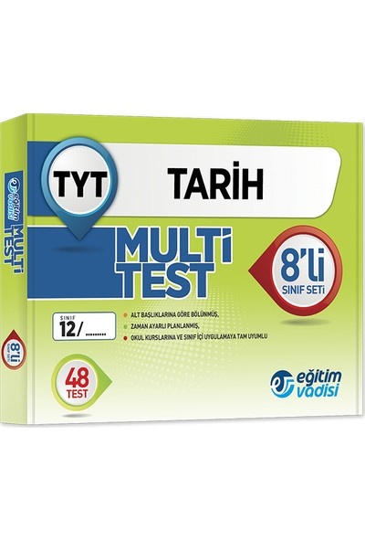 Tyt Multi 8 li Öğrencilik Kutu Test Tarih