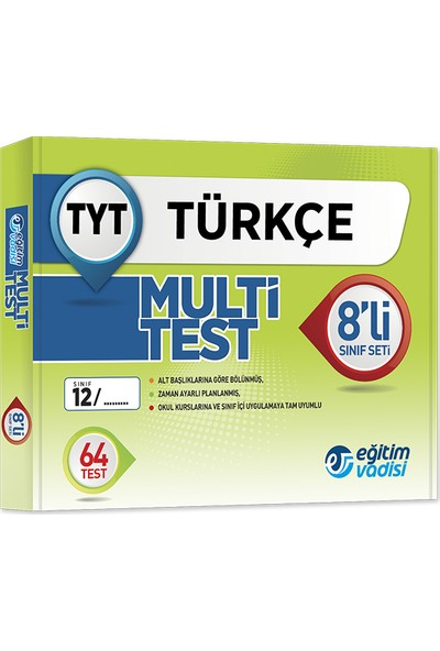 Tyt Multi 8 li Öğrencilik Kutu Test Türkçe