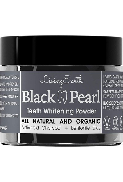 Black Pearl Activated Charcoal Diş Macunu