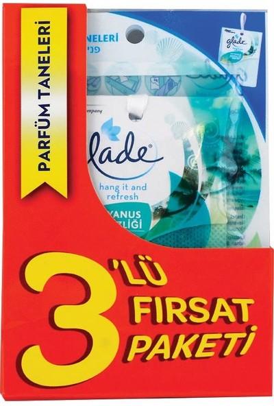 Glade Parfüm Taneleri 3lü