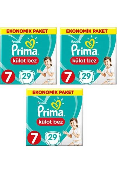 Prima Ekonomik Paket 7 Numara Külot Bez 29x3=87 Adet
