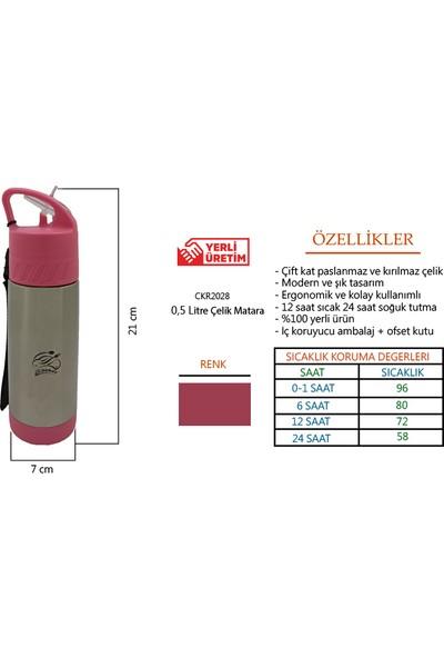 Cooker CKR2028 500 ml Çelik Matara - CKR2028