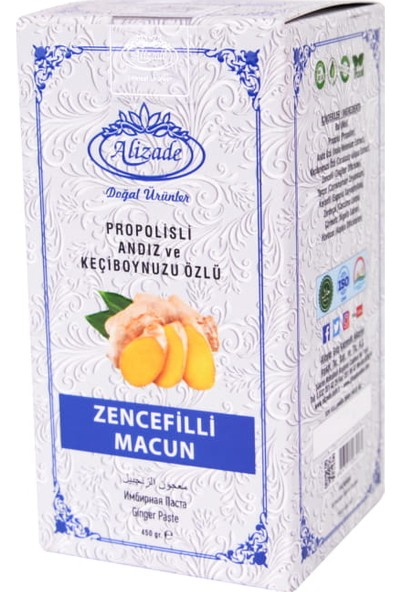 Alizade Zencefilli Macun