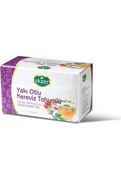 Akzer Yakı Otlu Kereviz Tohumlu Çay