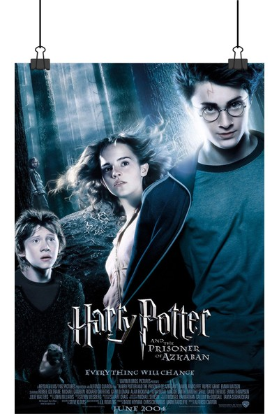 13 Poster Harry Potter Prisoner Of Azkaban Tutsağı Film Afiş 48 x 33 cm Posteri