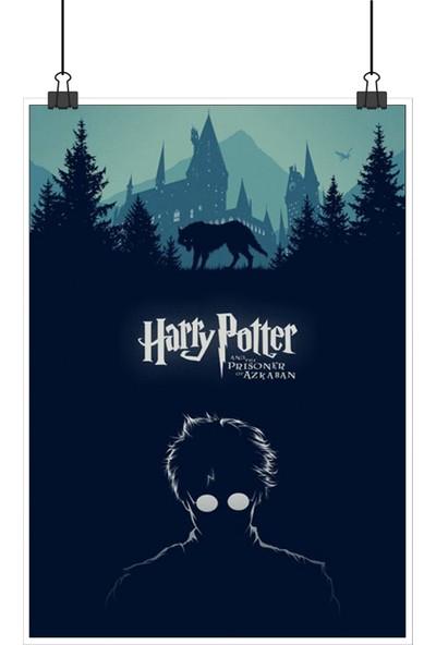 13 Poster Harry Potter Prisoner Of Azkaban Tutsağı Retro Vintage 48 x 33 cm Posteri
