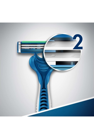 Gillette Blue2 Maximum Kullan At Tıraş Bıçağı 4'lü