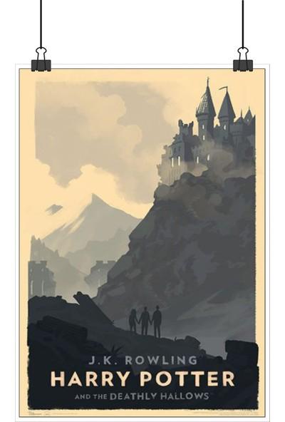 13 Poster Harry Potter Deathly Hallows Ölüm Yadigarları Farklı Retro 48 x 33 cm Posteri