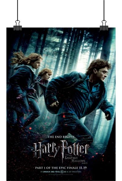 13 Poster Harry Potter Deathly Hallows Ölüm Yadigarları Film Afiş 48 x 33 cm Posteri