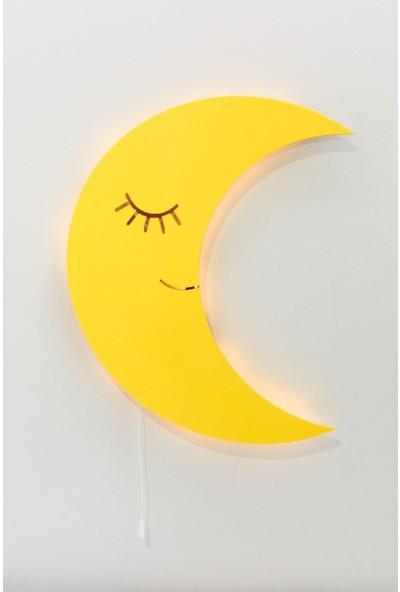 Smtasarımevi Ay Duvar - Kapı Süsü