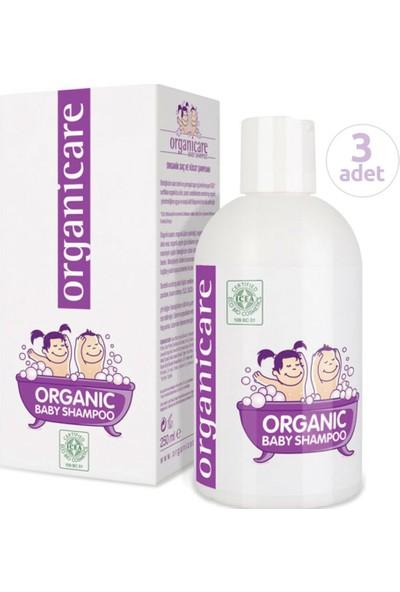 Organicare Organik Bebek Şampuanı 250 ml x 3 Adet