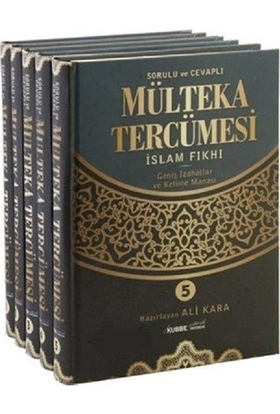 Mülteka Tercümesi 5 Ciltlik Takım - Ali Kara