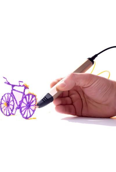 Mata Filament Propen, DKL-03A, 3D Yazıcı Kalem, Gül Rengi