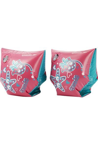 Speedo Çocuk Yüzme Kolluğu 8-06946B432 Sea Squad Abnd Ju Pink/Blue