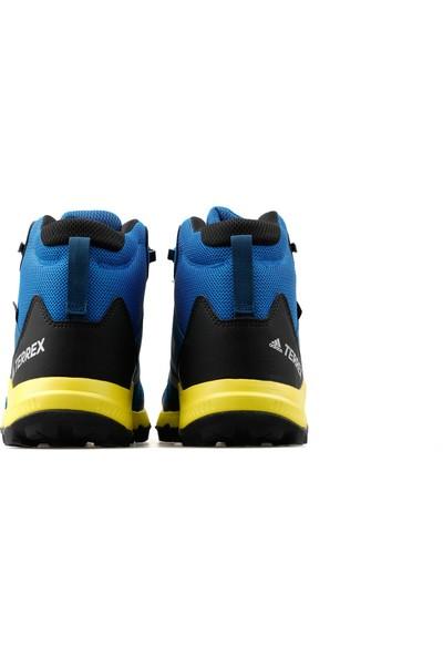 adidas Genç Outdoor Botu BC0596 Mavi Terrex Mid Gtx K