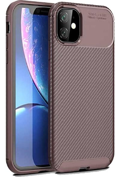 BizimGross Apple iPhone 11 Kılıf Widow Telefon Kılıfı Kahverengi