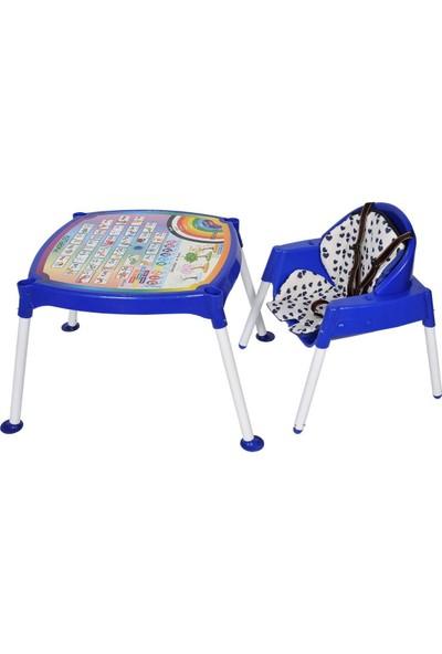 Çalış Toys Bebek Mama Sandalyesi ve Aktivite Masası