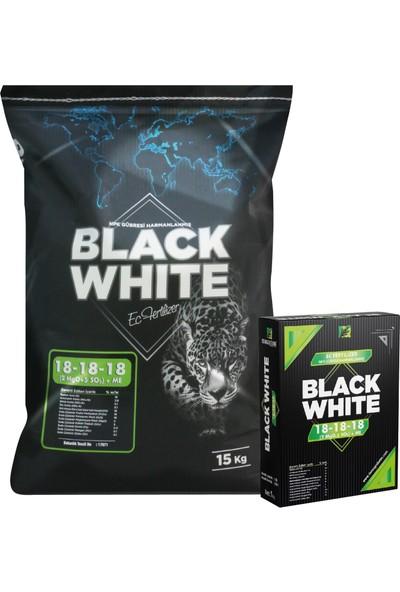 Black White 18 - 18 - 18 ve Başlangıç Gübresi 1 kg