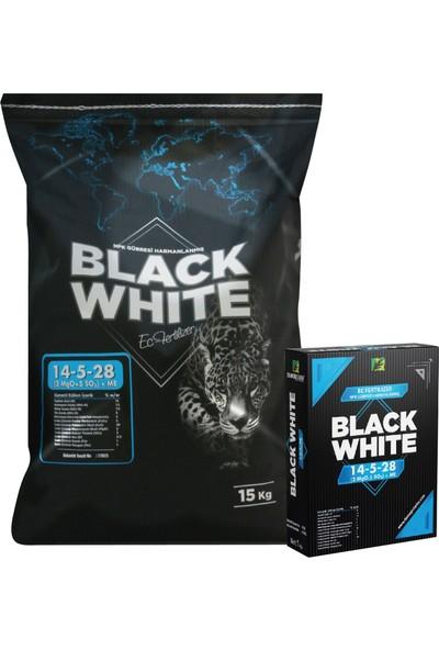 Black White 14 - 05 - 28 Yaprak ve Damlama Gübresi 1 kg
