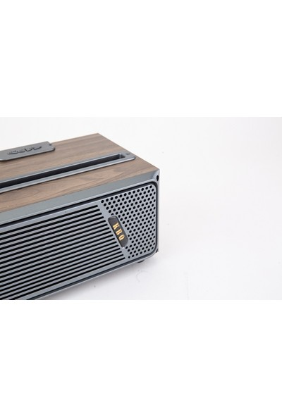 Kbq 1808 Nostaljik Ahşap Bluetooth Wireless Standlı Hoparlör