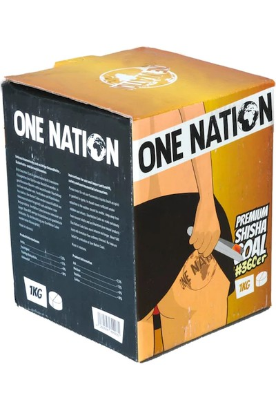 One Nation Lotus Nargile Kömürü 1 kg