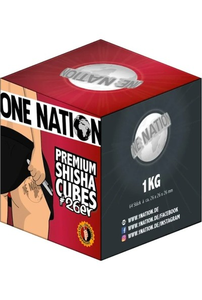One Nation Premium Nargile Kömürü 1 kg