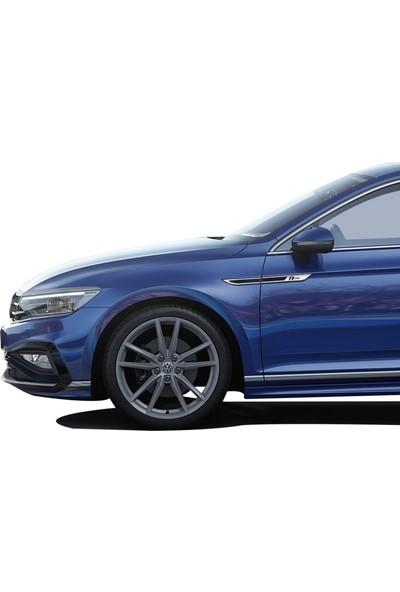 Oto Axs Volkswagen Passat B8.5 R Line Çamurluk Çıtası Siyah 2019 ve Sonrası