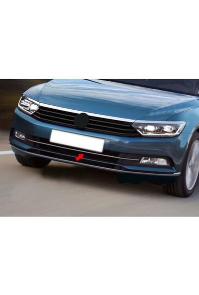 Oto Axs Volkswagen Passat B8.5 Krom Ön Tampon Çıtası 2019 ve Sonrası