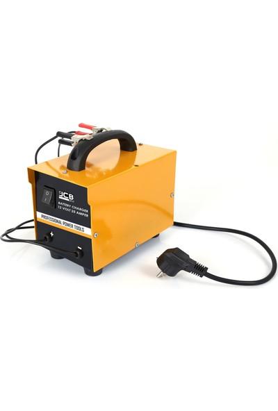 Jcb Pro Plus Professıonell Hızlı Akü Şarj Cihazı 12 Volt 25 Amper