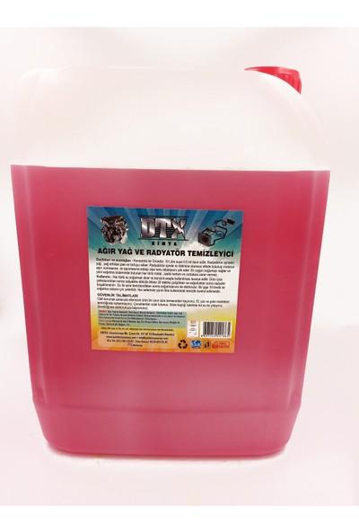 DTX Ağır Yağ ve Radyatör Temizleme Sıvısı 5 kg