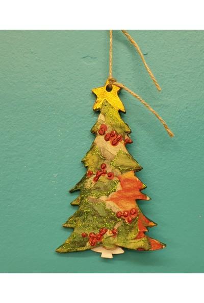 Markakanvas Dekoratif YeniYıl Yılbaşı Çam ağacı Süsü