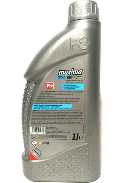 Petrol Ofisi Maxima 10W-40 1 Litre Motor Yağı ( Üretim Yılı :2020 )