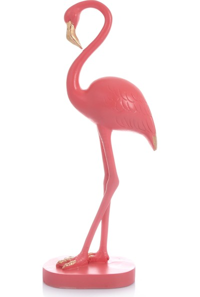 Mossa Home Pembe Büyük Boy Flamingo Biblosu