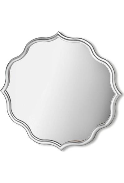 Mossa Home Gümüş Mossa Home Dekor Ayna