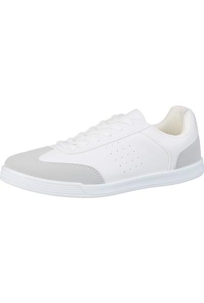 Polaris 91.356067.M Beyaz Erkek Klasik Ayakkabı