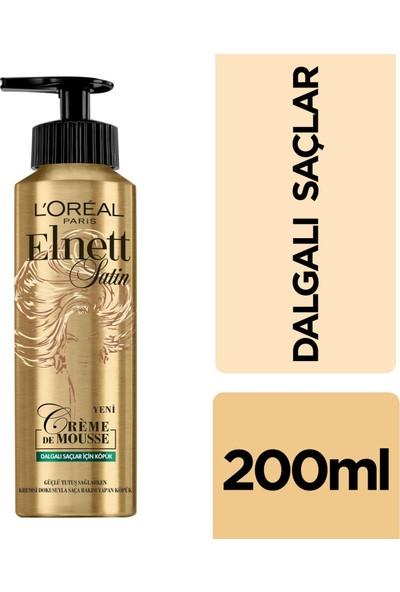 L'Oréal Paris Elnett Dalgalı Saçlar için Köpük