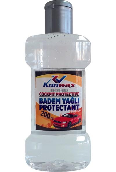 Konwax Badem -Silikon Yağı 200 ml