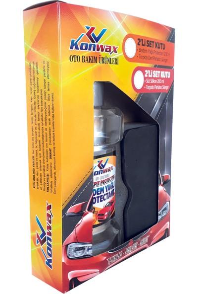 Konwax Badem -Silikon Yağı Set 200 ml