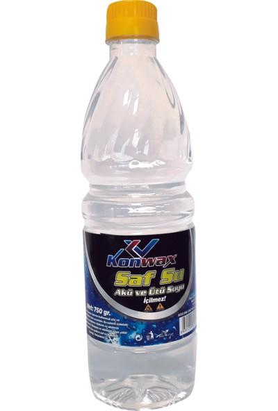 Konwax Deiyonize Saf Su 750 ml