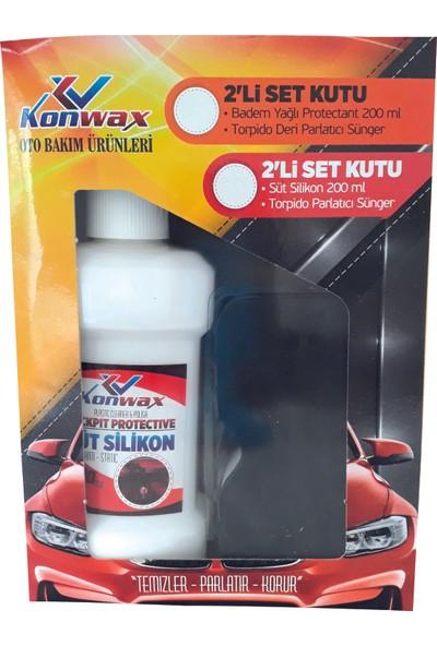 Konwax Süt Silikon Set 200 ml