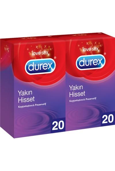 Durex Yakın Hisset 40'lı Prezervatif Avantaj Paketi