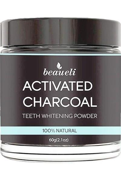 Beaueli Activated Charcoal Organik Florürsüz Diş Tozu 60 gr