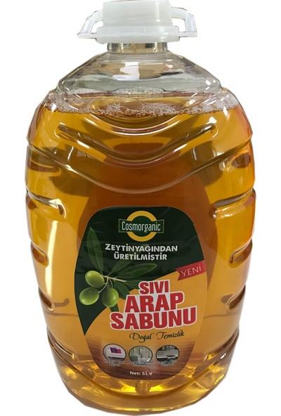 Cosmorganik Zeytinyağı Sıvı Arap Sabunu 5 lt